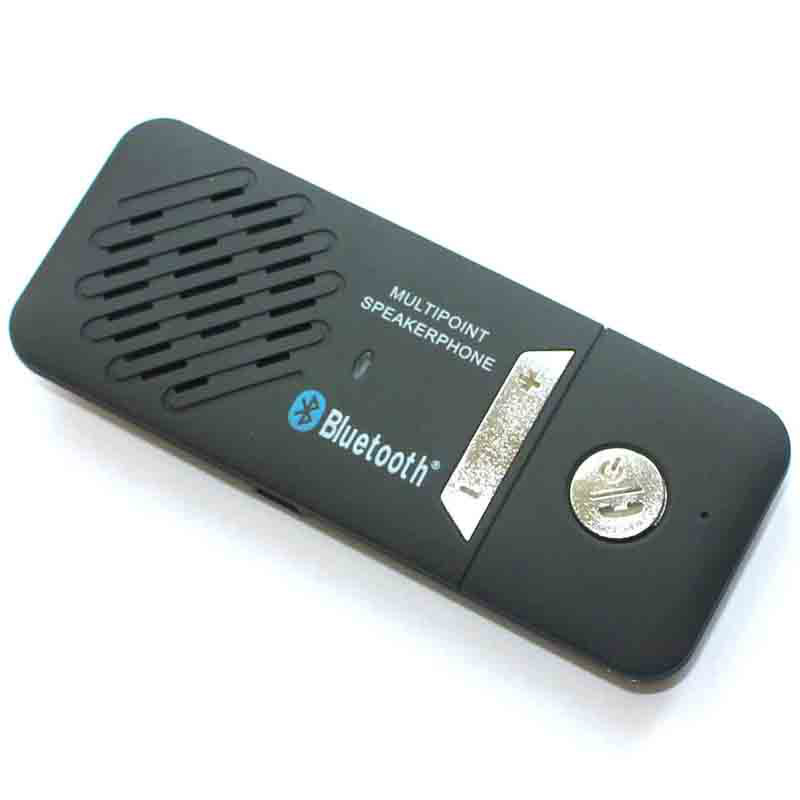 Car Bluetooth Cell Phone Handsfree, Speaker music player Universal Bluetooth Car Kit Handsfree