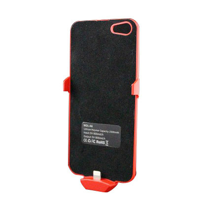 2000mAh For iPhone 5 large capacity lines clip battery back clip mobile power