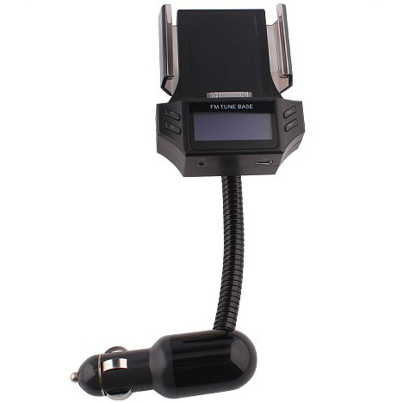 Free shipping 2014 New Arrivial MP3 Player FM Transmitter modulator FM98D for iPhone