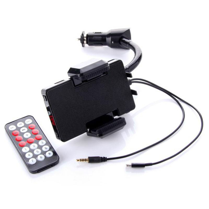 2014 Brand new Car FM Transmitter Modulator car kit FM09 for iPod & iPhone with Frequency: 88.1~107.9 MHz, 0.1 MHz/step