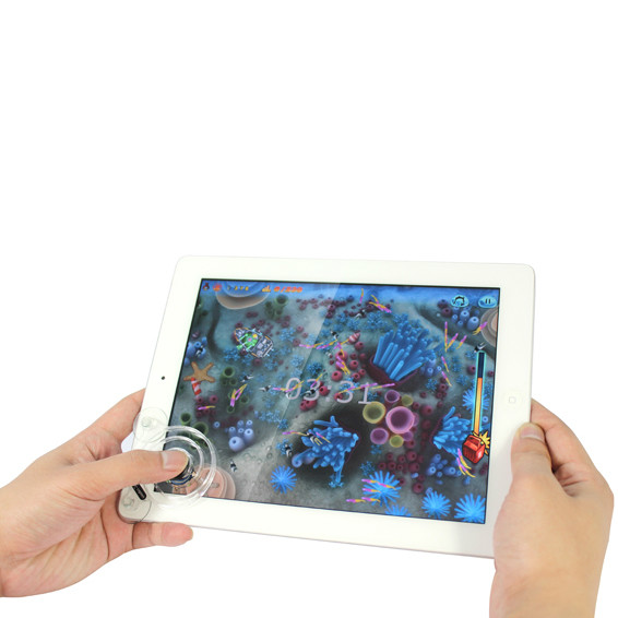 High quality portable plastic rocker for ipad easy to adsorb and remove weight 3g free shipping