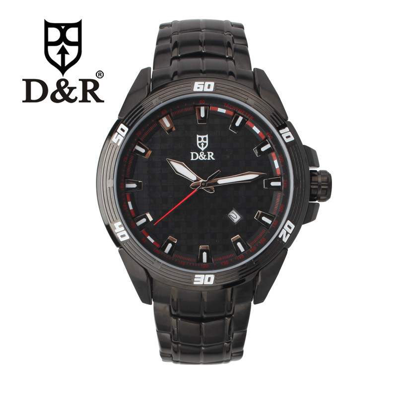 D&R DR8993-2115 New Arrival Fashion Watch for Men Sports Quartz Wrist Watches Free Shipping