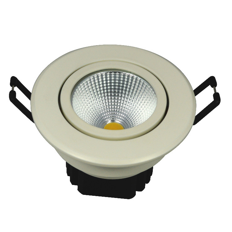 Aluminum COB LED ceiling lamps downlights
