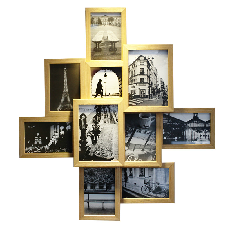 Fashion photos of wall frame photo frame fashion one piece combination
