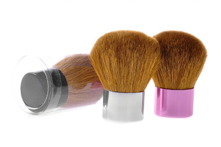 3Pcs Makeup Brush Set Ultra-soft Synthetic Hair with Gorgeous  Bag