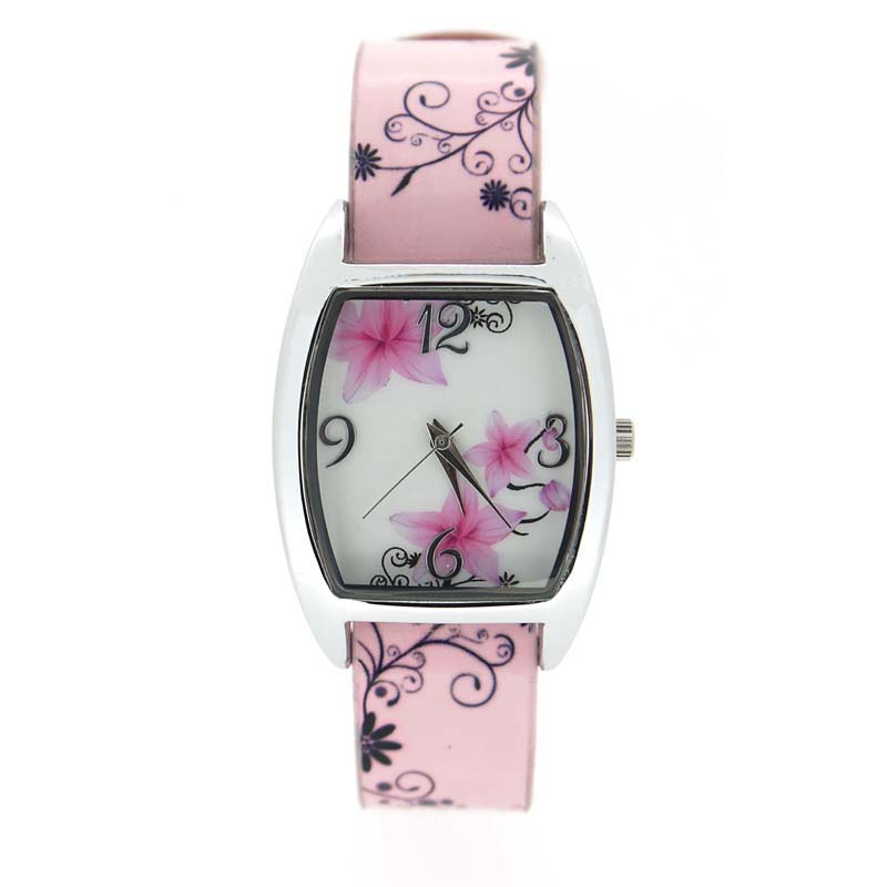 sweet women's dial watch with chinese style