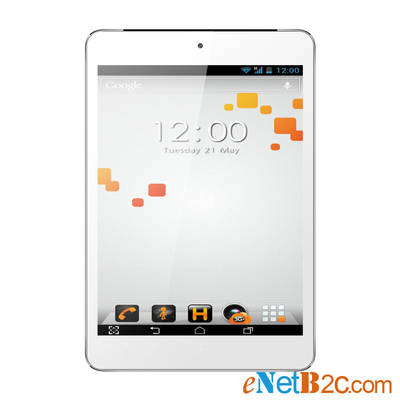 7.85 inch Tablet PC IPS 1024x768 3G Phone MTK8389K Qual Core Dual Cameras