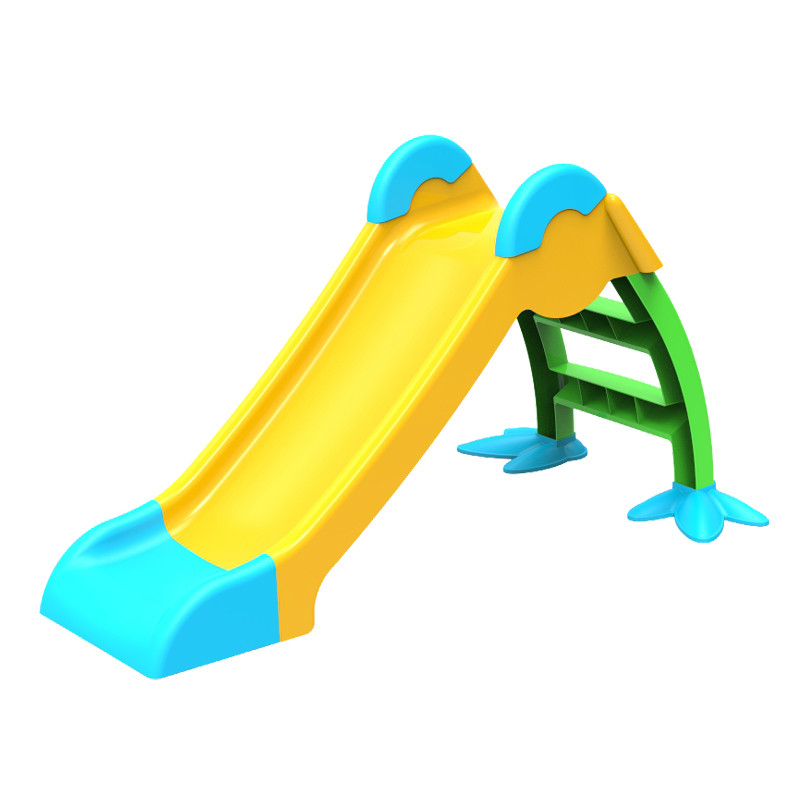 Child plastic slide up and down child household slippery slide infant folding slide