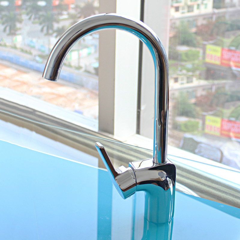 New Brass Kitchen Faucets With Stainless Steel Flexible Hoses