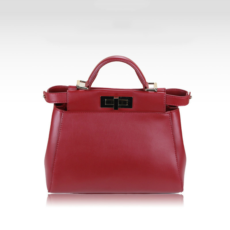 2014 hot sale Genuine leather it bag mini Peekaboo women's handbags women messenger bags