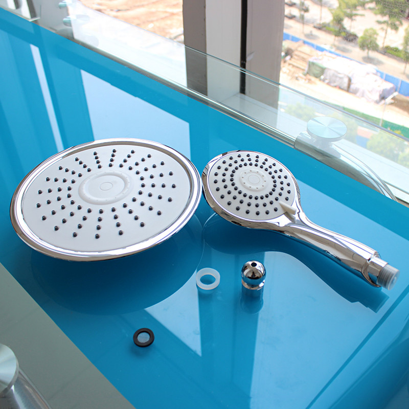 ABS 8 inch round Rainfall Shower Head top shower head and hand shower