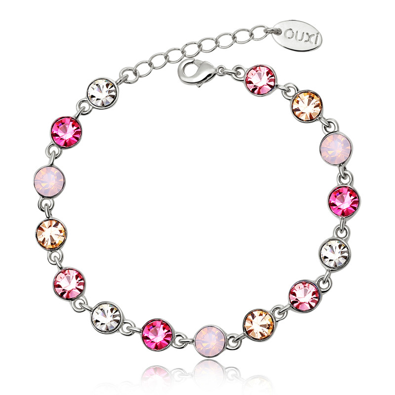 2014 authentic Austria flowing starlight delicate crystal bracelet for woman girl ladies